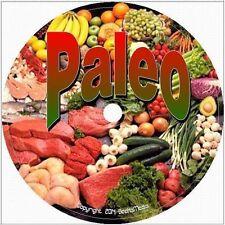 Paleo Diet Plan CD Recipes Cookbook Weight Loss Snacks Food Beginners Baking
