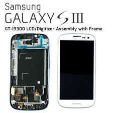 Samsung Galaxy S3 (GT-I9300) LCD/Digitizer Assembly with Frame - Marble White