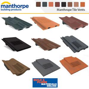 Manthorpe Roof Tile Vents * Roof Ventilation *  Tile Vent * Accessories Options