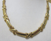 Beautiful Vintage Gold Tone  Necklace