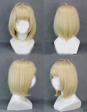 Ao No Exorcist Shiemi Moriyama Short Blonde Cute Party Cosplay Wig + gift