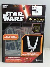 #H#  STAR WARS Kylo Ren's Command Shuttle Small 3D Model Kit - METAL EARTH, NEW