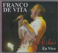NEW - Franco De Vita CD + DVD Mil y Una Historias EN VIVO - SEALED