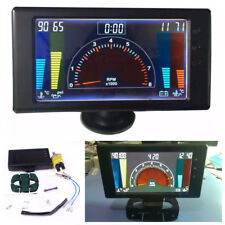 "5"" 6 In 1 Car Led Tachometer,Volts,Clock,Rp m,Water Temp,Oil Temp,Oil Press Gauge (Fits: Whippet)"