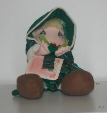 "Precious Moments 1991 Dolls of the Month ""December"" Doll by Applause #16643"
