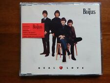 The Beatles Real Love CD Single Baby's In Black Yellow Submarine Here There