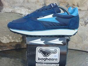 Vintage 1980s Bagheera Boston UK7 / EU 41 Deadstock Sneakers Trainers OG Sweden