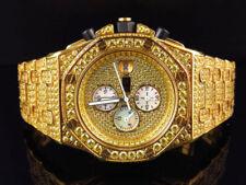 Relojes de pulsera de oro amarillo Cronógrafo para hombre