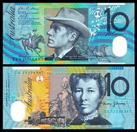 Australia 2012 Reserve Bank 10 $ Dollars Pick#58f  Gem polymer  UNC