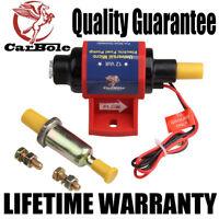 4-7 PSI Micro Electric Fuel Pump For Use w/Carburetor 35 GPH 12V Transfer