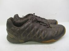 FOX RACING Shoes Men's Size 9 Motocross Racing Traction Brown Leather Ankle