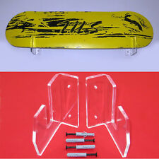Skateboard Wall Mount Clear Acrylic Skateboard Storage Display Rack Wall Mount