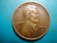 1913-S  LINCOLN WHEAT CENT #9
