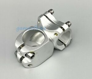 Aluminum 28.6*25.4/31.8*38/60mm Bicycle Short Stem MTB Road XC Bike stems Silver