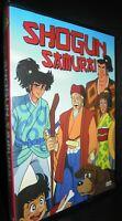 DVD MANGA TV ANIME ANNI 80,L'INVICIBILE SHOGUN SAMURAI ninja,kamui,sasuke,monkey