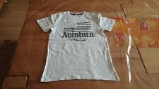 T Shirt Shirt Pulli von Vertbaudet Größe 146 / 152 150 cm weiß mit Frontdruck-3