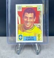 Panini FIFA 1970 MEXICO World Cup Story Sticker CARLOS ALBERTO 30 - NOT SONRIC