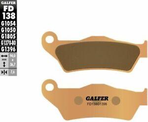 Galfer Brakes HH Sintered Brake Pads DUCATI KTM APRILIA Bronze FD138G1396