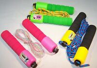 Kids Adjustable Jump Rope W/ Counter Gym Fitness Exercise Skipping Rope Toy