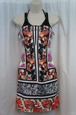 8e054a6377 Clover Canyon Swim Cover up Sz L Multi Color Sleeveless Floral Swimwear  Dress