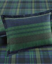 martha Stewart Collection Warwick Cotton Stripe Flannel 2 Pillowcases Standard