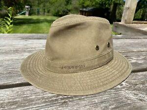 Stetson Traveller Delave Organic Cotton UV Protection Hat S-XL Unisex - RRP £69
