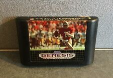 NFL Sports Talk Football '93 Starring Joe Montana (Sega Genesis 1992) Ships Free