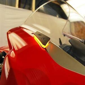Ducati Panigale V2 Mirror Block Off Turn Signals | Ducati V2 LED Turn Signals