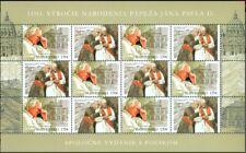 2020 SLOVAKIA Joint Issue Poland 100th Pope John Giovanni Johannes Paul Paolo II