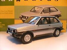 Muy raras Vanguards 1983 Plata 1/43 Ford Fiesta MK 1 XR2 unidad de mano derecha nla