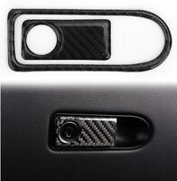 Carbon Boîte de rangement Garniture de poignée Pour Mercedes Benz W204 07-14