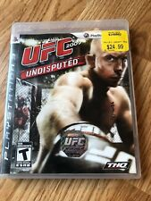 UFC Undisputed 2009 (Sony PlayStation 3, 2009) Ps3 Cib Game H3