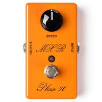 MXR CSP101SL Custom Shop Script Phase 90 LED Guitar Effects Pedal