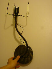 Wall Light, Single arm, metal Bronze from John Lewis
