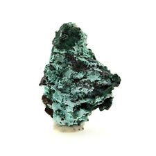 Plancheite, Malachite, Goethite. 23.6 ct. Kolwezi, Katanga, Congo.