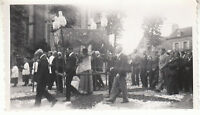 Photo ancienne  procession religieuse photo Velox