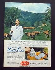 F385 - Advertising Pubblicità - 1963 - SANTA LUCIA MOZZARELLA GALBANI