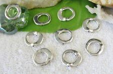 50pcs Tibetan silver circle bead frame FC10241