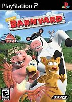 Nickelodeon's Barnyard (Sony PlayStation 2, 2006) PS2 Video Game Complete CIB