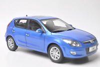 Hyundai i30 car model in scale 1:18 blue