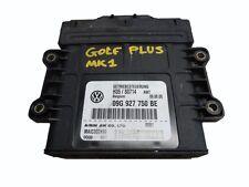 *VW GOLF PLUS 1.6 FSI 2005-2009 AUTOMATIC GEARBOX CONTROL UNIT 09G927750BE - BLF