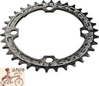 RACEFACE NARROW-WIDE SINGLE 32T X 104MM BLACK ALLOY BICYCLE CHAINRING