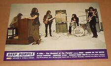 Deep Purple Shades 1968-1998 Poster 2-Sided Original Promo 24x17