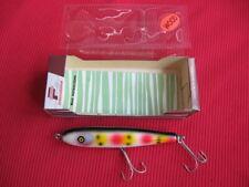 Vintage PFLUEGER BALLERINA Wooden Fishing Lure w/Brochure - Mint in Mint Box !!!