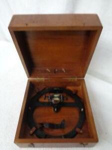Vintage Sestrel Marine Measuring Instrument with Original wooden box