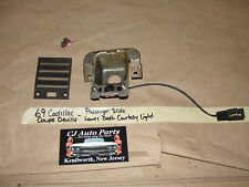 69 Cadillac Coupe Deville RIGHT SIDE LOWER DASH COURTESY LIGHT GRILL TRIM COVER