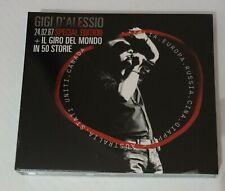 Gigi D'alessio 24.02.67 Special Edition + il Giro del Mondo in 50 Storie  CD DVD