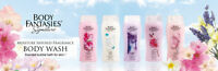 4X Body Fantasies Signature Moisture Infused Fragrance Body Wash choose scent