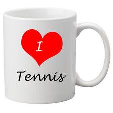 I love tennis 11oz Tazza in ceramica.