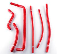 2008 2009 2010 2011 Can-Am DS450 DS 450 SILICONE RADIATOR HOSE RED 08-11